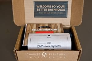 Dollar Shave Club, unboxing