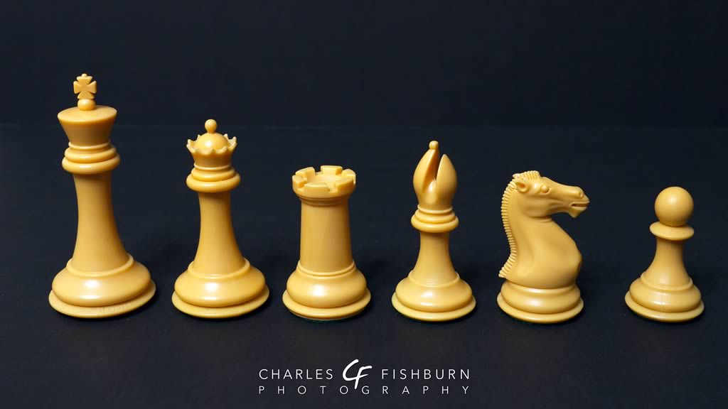 House of Staunton Collector chess set, white pieces