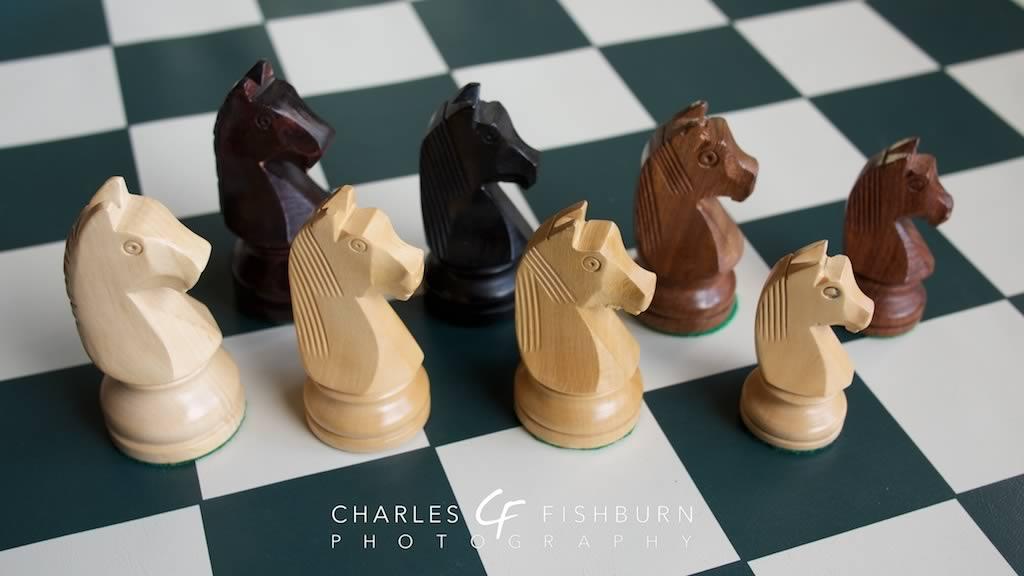 German Knight Chess Set - fishburn me